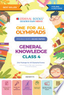 Oswaal One for All Olympiad Previous Years    Solved Papers  Class 4 General Knowledge Book  For 2022 Exam