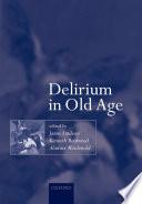 Delirium in Old Age Book PDF