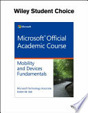 Windows Devices and Mobility Fundamentals, Exam 98-368
