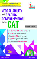 Verbal Ability and Reading Comprehension for the CAT