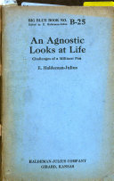 An Agnostic Looks at Life Book