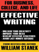 Effective Writing for Business  College  and Life