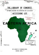 Accessions List Eastern Africa