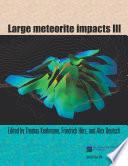 Large Meteorite Impacts III Book