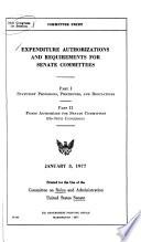 Hearings  Reports and Prints of the Senate Committee on Rules and Administration