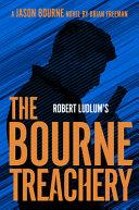 Robert Ludlum st the Bourne Treachery
