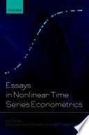 Essays in Nonlinear Time Series Econometrics