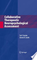 Collaborative Therapeutic Neuropsychological Assessment Book