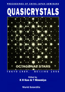 Quasicrystals - Proceedings Of China-japan Seminars