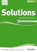 Solutions: Elementary: Teacher's Book and CD-ROM Pack