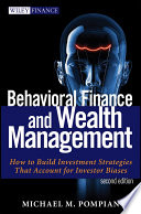 Cover of Behavioral Finance and Wealth Management