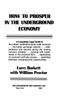 How to Prosper in the Underground Economy