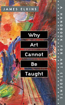Pdf Why Art Cannot Be Taught
