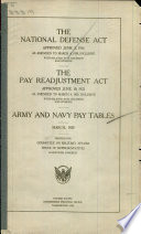 The National Defense Act Approved June 3, 1916 as Amended to March 4, 1929, Inclusive with Related Acts, Decisions and Opinions