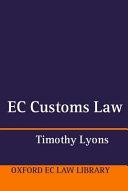 EC Customs Law