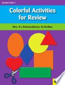 Colorful Activities for Review Book PDF