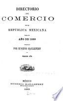 Directorio del comercio de la República Mexicana para el año 1869