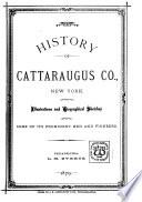 History of Cattaraugus Co   New York
