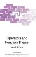 Operators and Function Theory [Pdf/ePub] eBook
