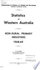 Statistics of Western Australia