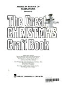 American School of Needlework presents The great Christmas craft book