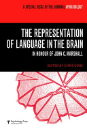 The Representation Of Language In The Brain Book PDF