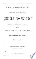Official Journal and Minutes of the ... Session of the Genesee Conference of the Methodist Episcopal Church