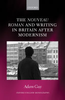 Pdf The nouveau roman and Writing in Britain After Modernism Telecharger
