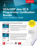 OCA OCP Java SE 8 Programmer Certification Bundle  Exams 1Z0 808 and 1Z0 809