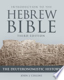 Introduction to the Hebrew Bible  Third Edition   The Deuteronomistic History