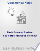 500 Spanish Verbs You Need To Know