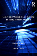 Genre and Women's Life Writing in Early Modern England Pdf