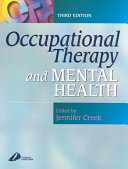 Occupational Therapy and Mental Health