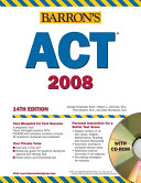 Barron s ACT  2007 2008 with CD ROM