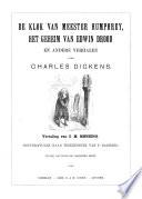 De Klok Van Meester Humphrey Het Geheim Van Edwin Drood En Andere Verhalen