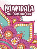 Mandala Adult Coloring Book Book