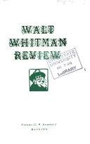 Walt Whitman Review