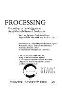 Fundamentals of Deformation Processing