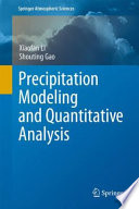 Precipitation Modeling And Quantitative Analysis Book PDF