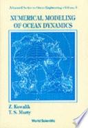 Numerical Modeling of Ocean Dynamics Book