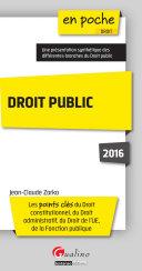 Droit public 2016