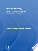 Health Ecology Book