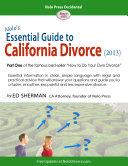 Nolo s Essential Guide to California Divorce  2013