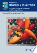 Burgerstein s Handbook of Nutrition Book