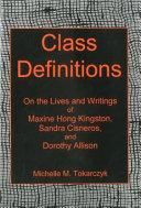 Class Definitions Pdf/ePub eBook