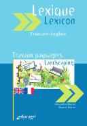 Landscaping lexicon