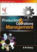 Pdf Production and operations management