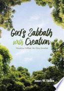 God s Sabbath with Creation