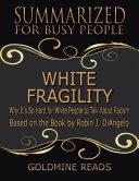 White Fragility Pdf [Pdf/ePub] eBook