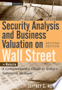 Security Analysis And Business Valuation On Wall Street